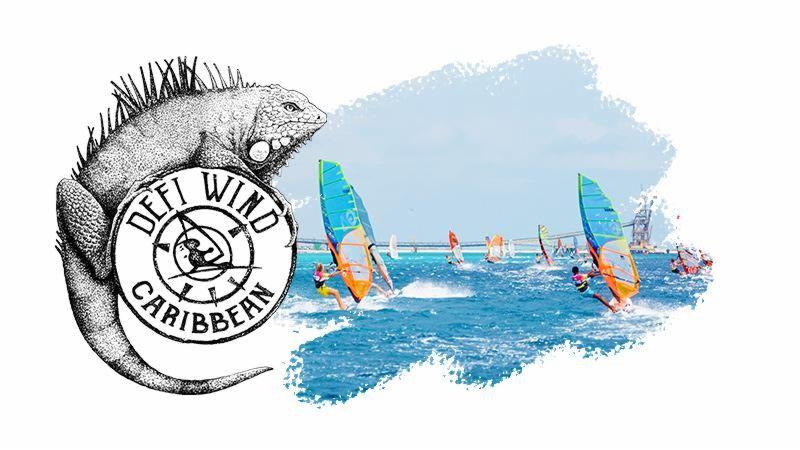 Defiwind Windsurf and Kitesurf race - Caribbean Edition in Bonaire, Dutch Caribbean.