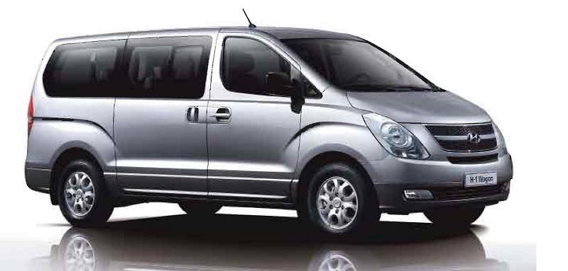 Hyunday or simular van